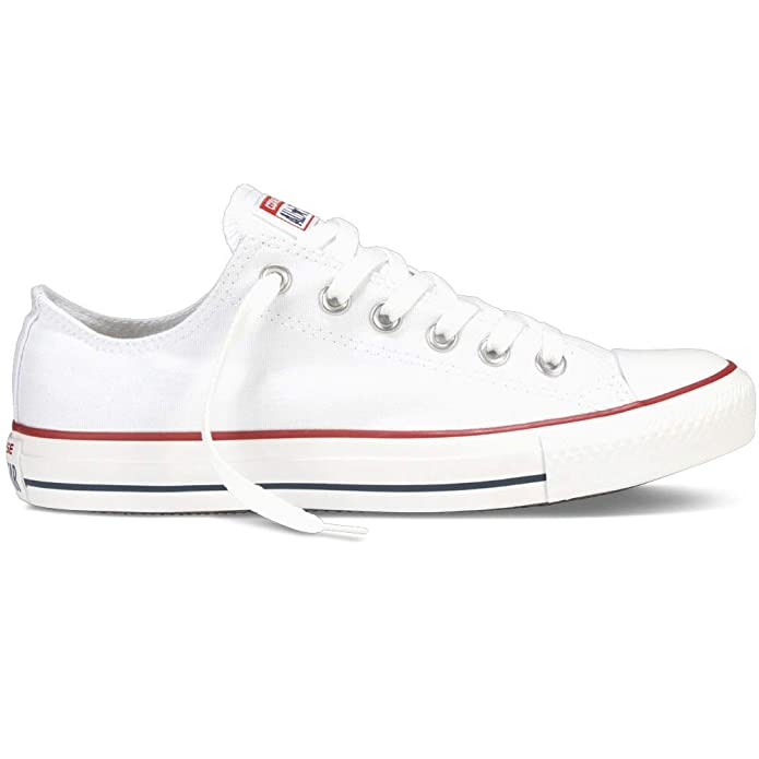 Converse Chucks All Star Chuck Talyor Low Top Erwachsene Damen Herren Weiß