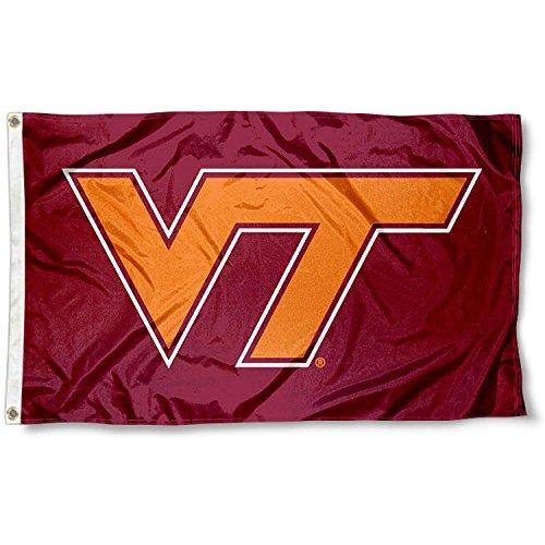 VT Virginia Tech Hokies University Large College Flag Virginia Tech University