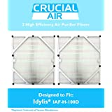 2 Idylis HEPA Air Purifier Filter, Fits Idylis Air Purifiers IAP-10-280, Model # IAF-H-100D, by Think Crucial
