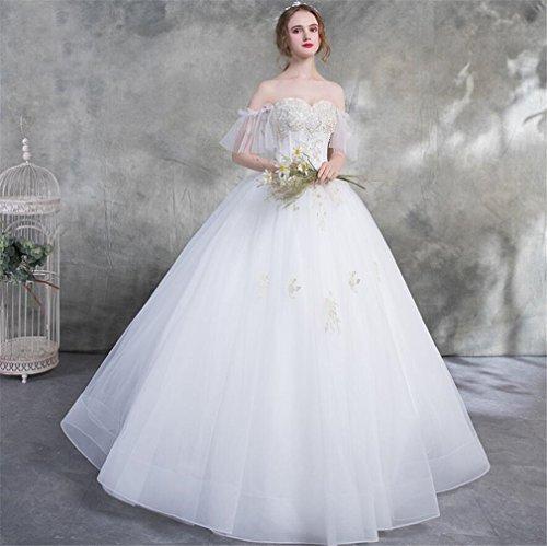 Sposa Da Donna Lucky Damigella u Cerimonia Abito D'onore qFwO6Htp
