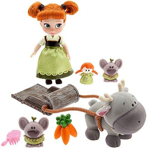 Disney Animators' Collection Anna Mini Doll Play Set 460026236768