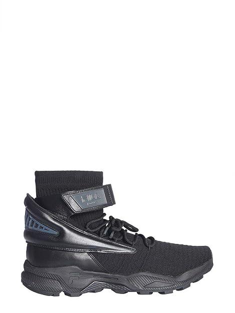 Fila Hombre F16M913714 Negro Cuero Zapatillas: Amazon.es: Zapatos y complementos