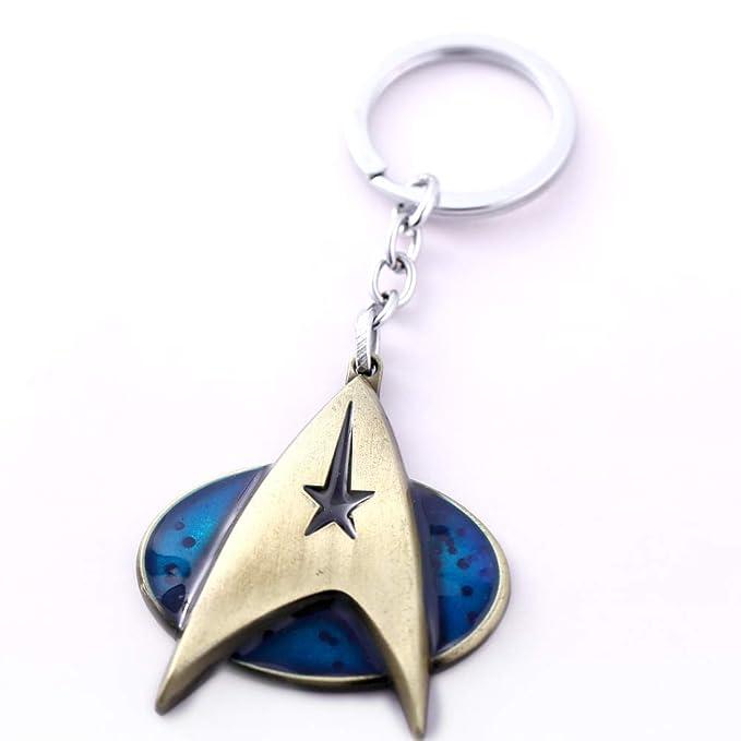 Mct12 - MS New Star Trek Keychain Copper Alloy Bonzen Metal ...
