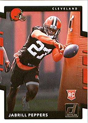 2017 Donruss #390 Jabrill Peppers Cleveland Browns Rookie Football Card