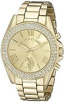 U.S. Polo Assn. Women's USC40036 Gold-To...