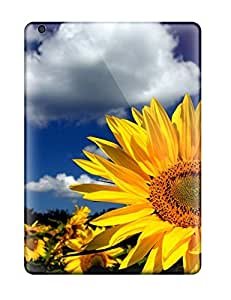 High Quality Shock Absorbing Case For Ipad Air-sunflowers