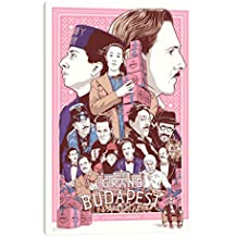 "iCanvasART The Grand Budapest Hotel Canvas Print, 26"" x 18"""