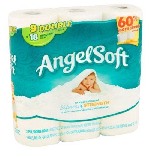 Angel Soft Toilet Tissue Regular