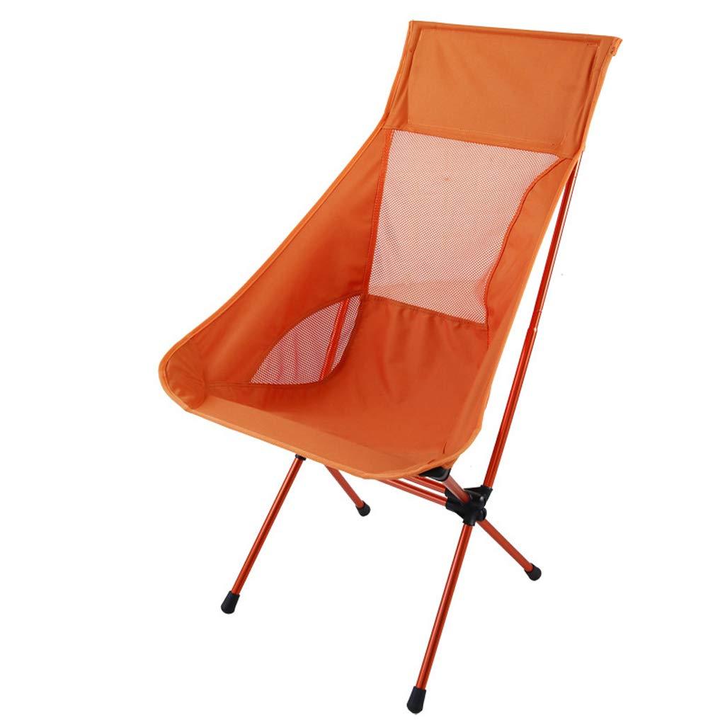 専門店では ポータブルキャンプチェア、折りたたみキャンプスツールハイバック B07P9YG2XP 快適な登山用アドベンチャーハイキング釣りビーチピクニックパーティーガーデニング orange B07P9YG2XP, まーぶるPC:bfed0854 --- staging.aidandore.com