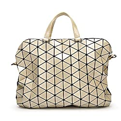 Geometric Sequin Mirror Handbags Casual Totes