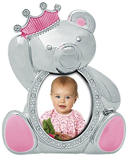 ZEP S.r.l F44223PK Baby-Bilderrahmen Prinzessin, Metall, 8x8