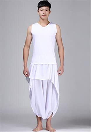 b01054961d045 Men's and ladies dance performances costumes / white suits and dresses /  ballet dancing modern dance