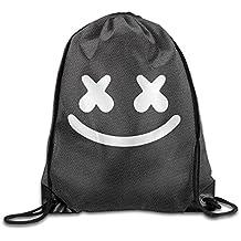 Marshmello Face Marshmello Tour Drawstring Backpack Sports Bag For Men And Women
