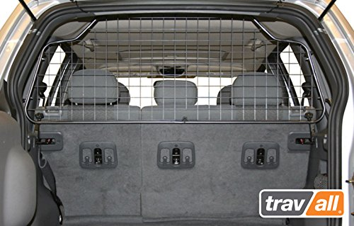 Travall Guard for Jeep Cherokee (2001-2007) and Jeep Liberty (2001-2007) TDG1143 - Rattle-Free Luggage and Pet Barrier