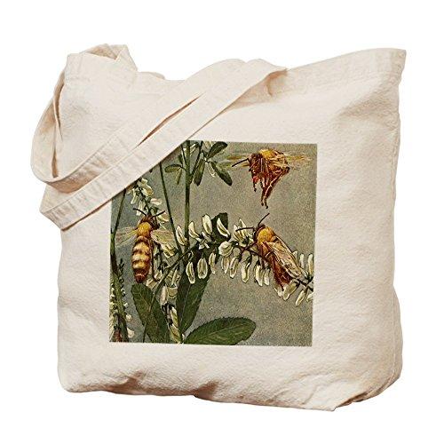 CafePress–�?las abejas–Gamuza de bolsa de lona bolsa, bolsa de la compra