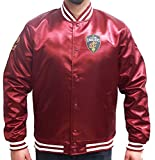 New Era NBA Cleveland Cavaliers Tip Off Sateen Bomber College Jacket Jacke