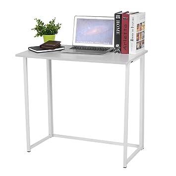 Homgrace Klappbarer Computertisch Computer Schreibtisch Ideal Für Zuhause  Und Büro, 80 * 45 * 74.3