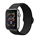 amBand Sport Loop Band Compatible with Apple Watch 38mm 40mm 42mm 44mm, Lightweight Breathable Nylon Replacement Band...