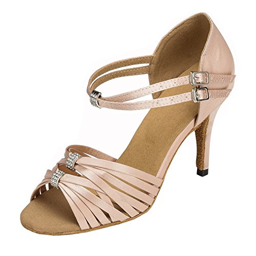 Femme De Wy7qxna 35 Beige Danse Minitoo Chaussures gEY1X