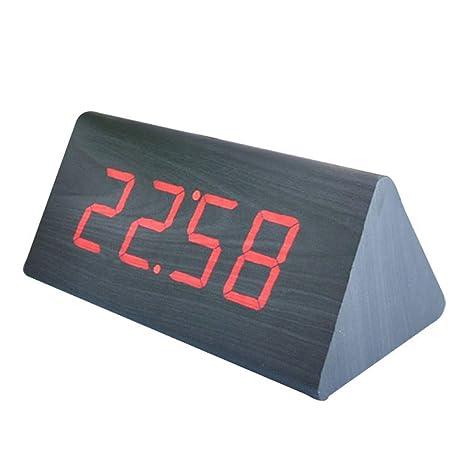 L-meet Moda hogar de Gama Alta Grande LED Digital Reloj de ...