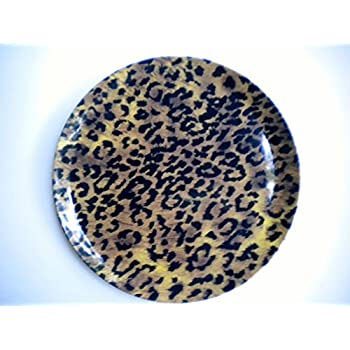 10  Jaguar Animal Print Melamine Dinner Plates Set of Two  sc 1 st  Amazon.com & Amazon.com | 8