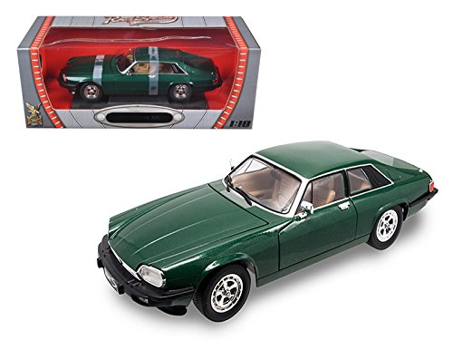 Xjs Models (1975 Jaguar XJS Coupe Green 1/18 Car Model by Road Signature)