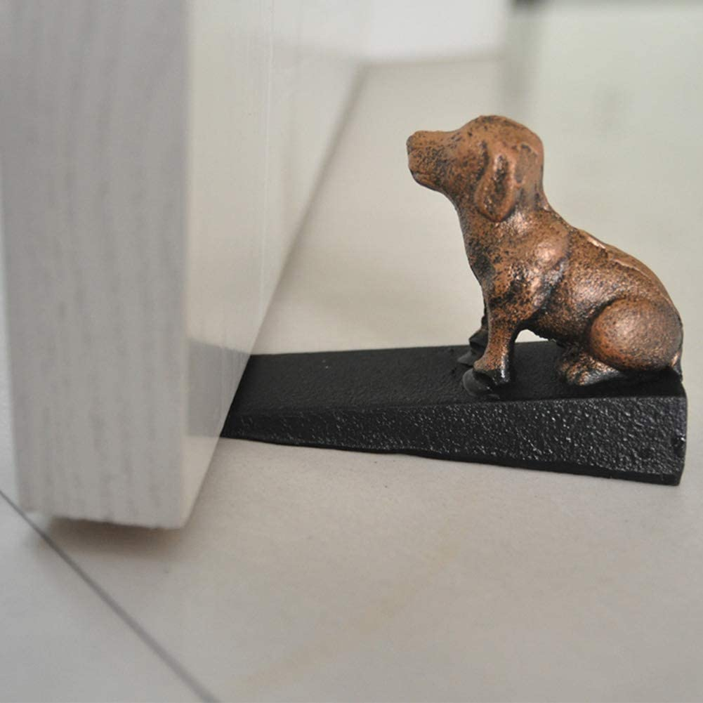 Bath Vintage Door Stop Wedge Lovely Decorative Finish Cat Cast Iron Dog//Mouse//Cat Door Stopper Stop Your Bedroom A Thoughtful Gift Idea