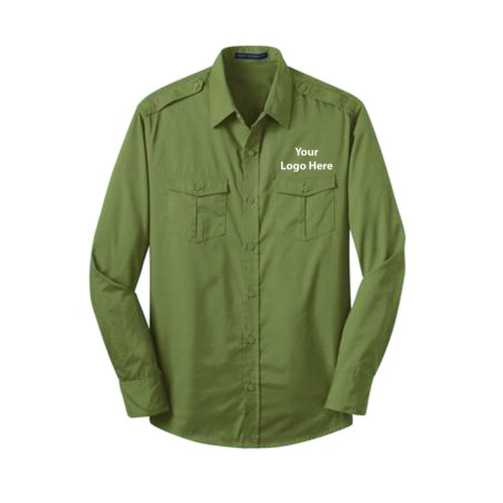 Resistant Twill Shirt - 24 Quantity - $36.65 Each - BRANDED with YOURLOGO/CUSTOMIZED