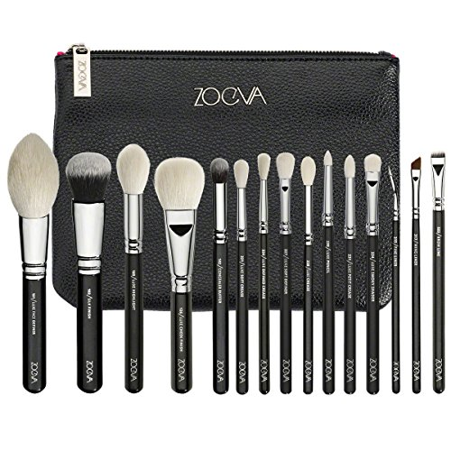 ZOEVA Brushes Makeup Cosmetics Brush Tool Luxe Complete Eye Set 15 Professional Face Eye Brushes Blending Makeup Brushes set Complete Eye_By A Shopping TH (Sigma Brushes Natural Hair compare prices)