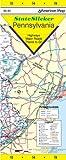 American Map State Slicker Pennsylvania