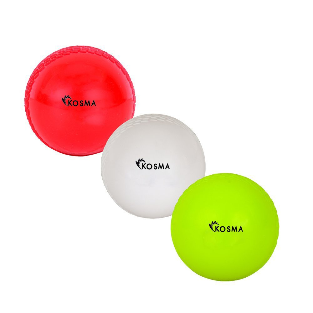Kosma Set von 3 PC Wind Ball Weiß Flourescent Gelb Montstar Global KG-21892