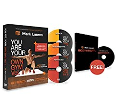 From bestselling fitness author Mark Lauren:                Use nothing but your own body, some floor space, and 30 new bodyweight exercises that accurately mimic practical day-to-day movements and, therefore, engage many muscles at on...