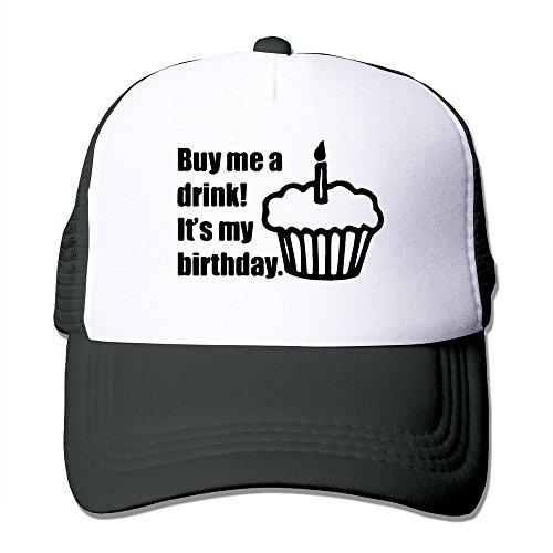 LKSJSADJ Birthday Born In Awesome Trucker Hat Black