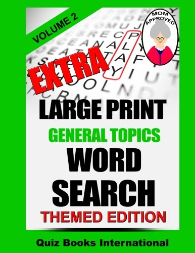 Download Extra Large Print Word Search - General Topics Vol. 2 ebook