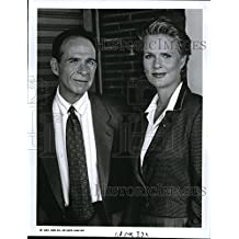 1991 Press Photo Ron Rifkin and Sharon Gless in The Trials of Rosie O'Neill