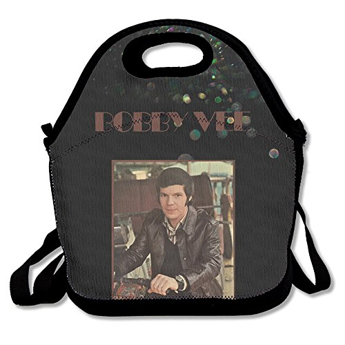 [Bakeiy Bobby Vee Logo Lunch Tote Bag Lunch Box Neoprene Tote For Kids And Adults For Travel And Picnic] (Angel Costume Tumblr)