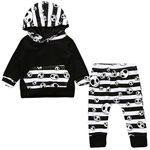 Flower Tiger Halloween Baby Unisex Boys Girls Cutest Pumpkin In The Patch Bodysuits Pumpkin Witch Pants Hat Outfits 3pcs Set Best Halloween Gift (0-6 Months, Black (Halloween Kids Sweatshirt)