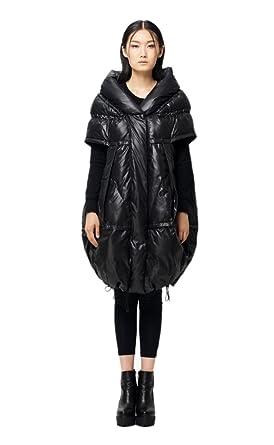 a058af198 Amazon.com: KATUO Women's Original Design Short Sleeve Down Coat ...