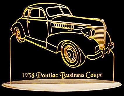 Amazoncom Valleydesignsnd 1938 Pontiac Business Coupe Acrylic