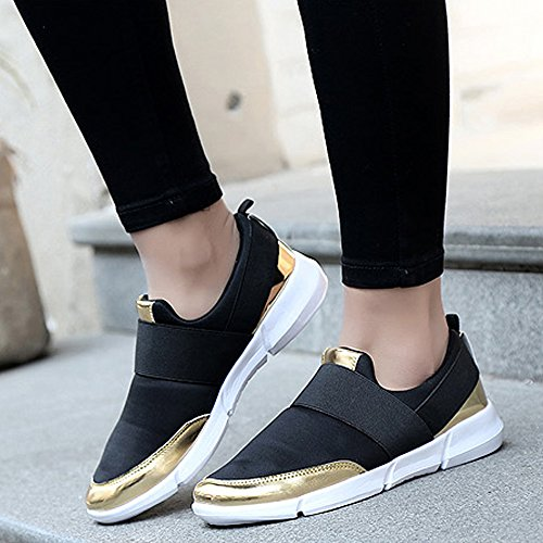 Casual Walking Breathable Women's Shoes Super Shoes Sneakers Weight Black Light Lanchengjieneng Running IHRxq