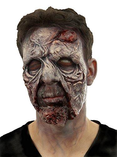 Cinema Secrets Woochie Coup De Gross, Pre Painted Zombie Latex Appliance (Professional Makeup Artist Halloween)