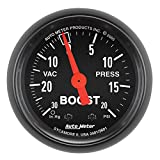 """Auto Meter 2601 Z-Series 2"""" Mechanical Vacuum/Boost Gauge"""