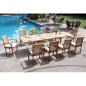 51J17-%2B44GL._SS300_ Teak Dining Tables & Teak Dining Sets