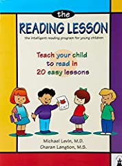 The Reading Lesson is a bestselling program that teaches young children to read in 20 easy lessons. It is designed as a step-by-step course for parents who want to teach their young children to read at home. The teaching method is base...