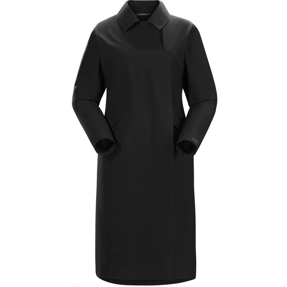 ARC`TERYX(アークテリクス) ニラ トレンチコート ウィメンズ Nila Trench Coat Womens L06927900 B01MXL70L8 S ブラック ブラック S
