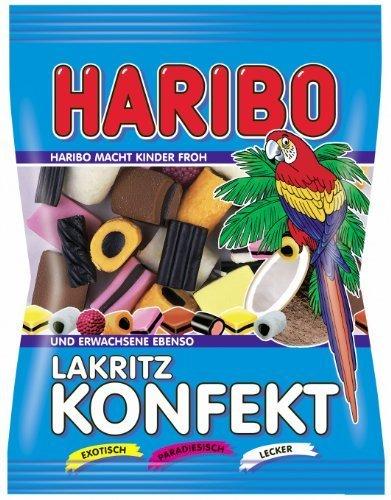 Haribo Lakritz Konfekt 200g/7.05oz by Haribo