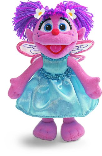 Gund Sesame Street Abby Bendable 9-In Plush ()