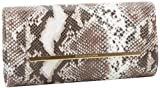 BCBG Helen RMM485EP Clutch,Natural,One Size, Bags Central