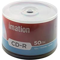 Imation CD Recordable 700 MB Pack of 50