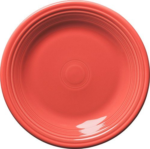 Fiesta Dinner Plate, 10-1/2-Inch, Flamingo